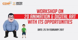 Workshop on 2D animation & digital art with its opportunities