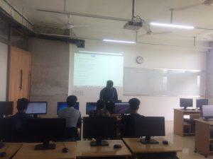 Orientation class of Web Design and Development Batch-4 of Spring